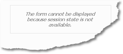 SessionStateIsNotAvailable